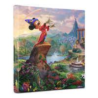 Image of ''Fantasia'' Gallery Wrapped Canvas by Thomas Kinkade Studios # 2