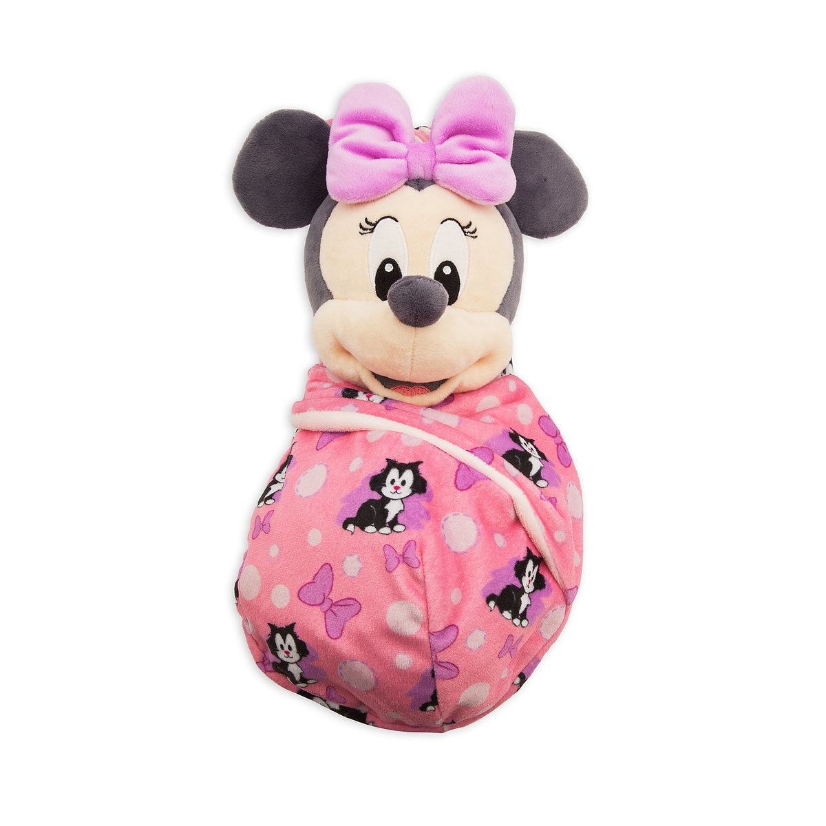 35adb298c07ca Product Image of Minnie Mouse Plush in Pouch - Disney Babies - Small   1