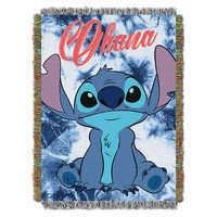 Image of Stitch Woven Tapestry Throw - Lilo & Stitch # 1