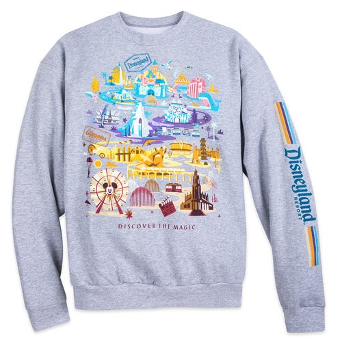 Disneyland Pullover Sweatshirt For Adults Shopdisney