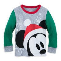 Image of Mickey Mouse Holiday PJ PALS for Baby # 2