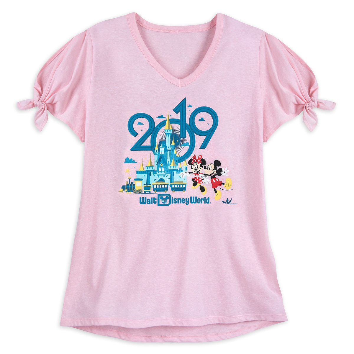 c11812be4 Product Image of Mickey and Minnie Mouse T-Shirt for Women - Walt Disney  World