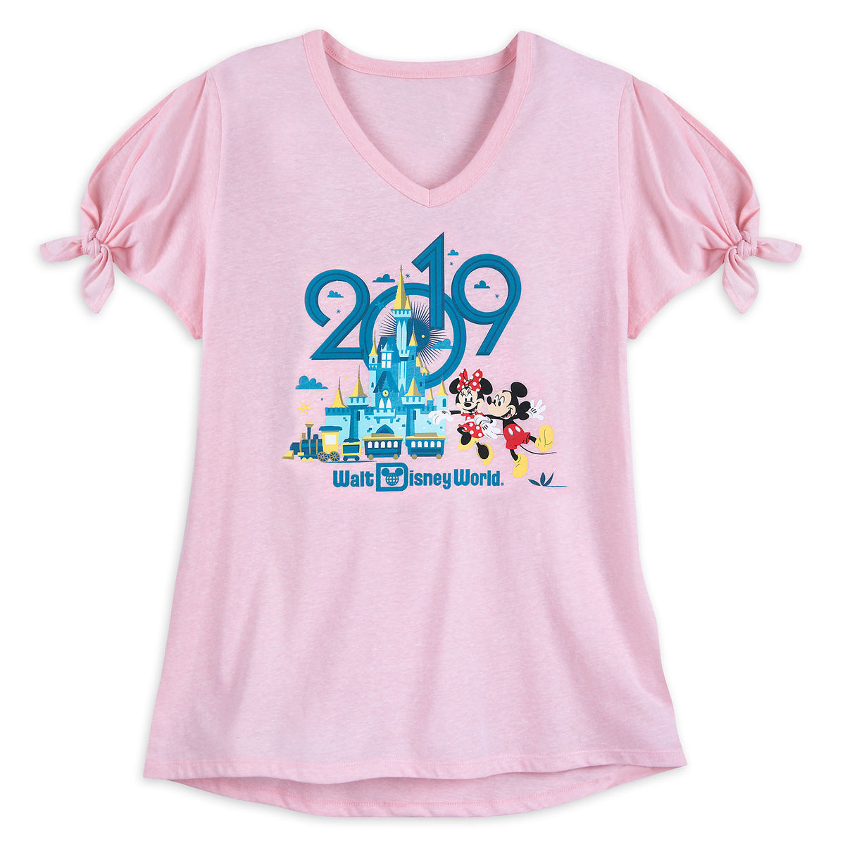63e2f240a8d Product Image of Mickey and Minnie Mouse T-Shirt for Women - Walt Disney  World