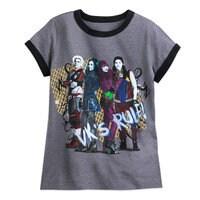 Image of Descendants 2 Cast Ringer T-Shirt for Girls # 1