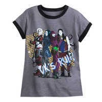 Image of Descendants 2 Cast Ringer T-Shirt for Girls # 1
