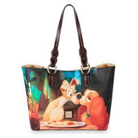Image of Lady and the Tramp Tote Bag by Dooney & Bourke # 1