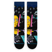 Image of Star Wars Warped R2-D2 Socks for Adults by Stance # 3
