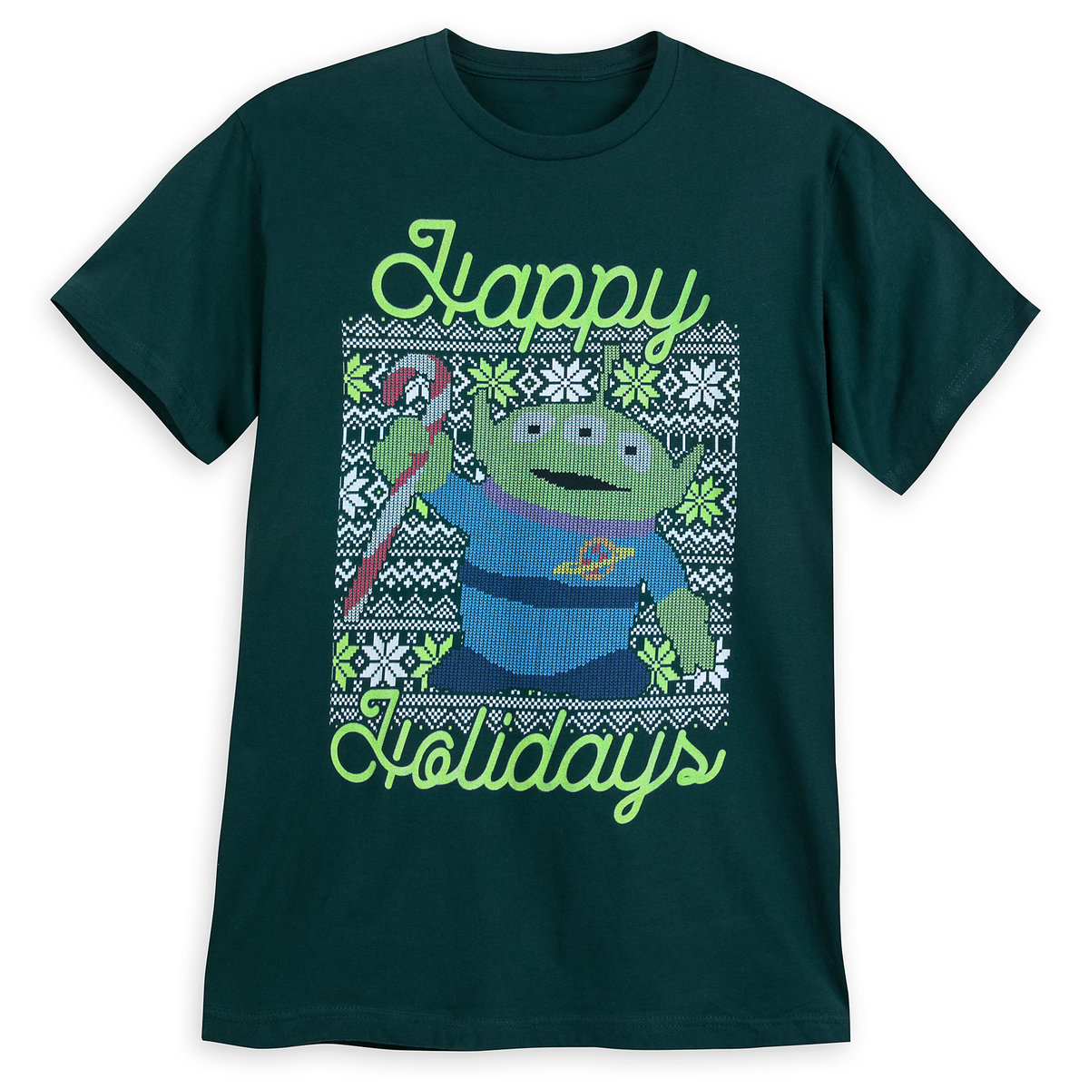 dabc1bd8b54b Product Image of Toy Story Alien Holiday T-Shirt for Men # 1