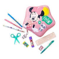 Image of Minnie Mouse Zip-Up Stationery Kit # 1
