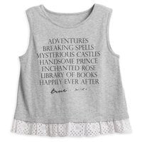 Image of Beauty and the Beast ''True Love'' Tank Top for Tweens # 1