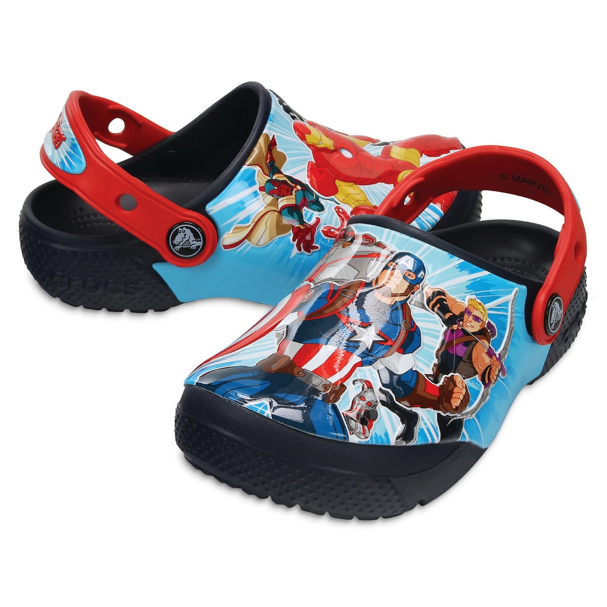 aaa0f94b0aed9 Product Image of The Avengers Crocs™ Clogs for Boys # 1