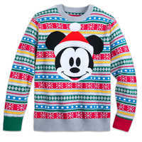 Image of Mickey Mouse Family Holiday Sweater for Men # 1
