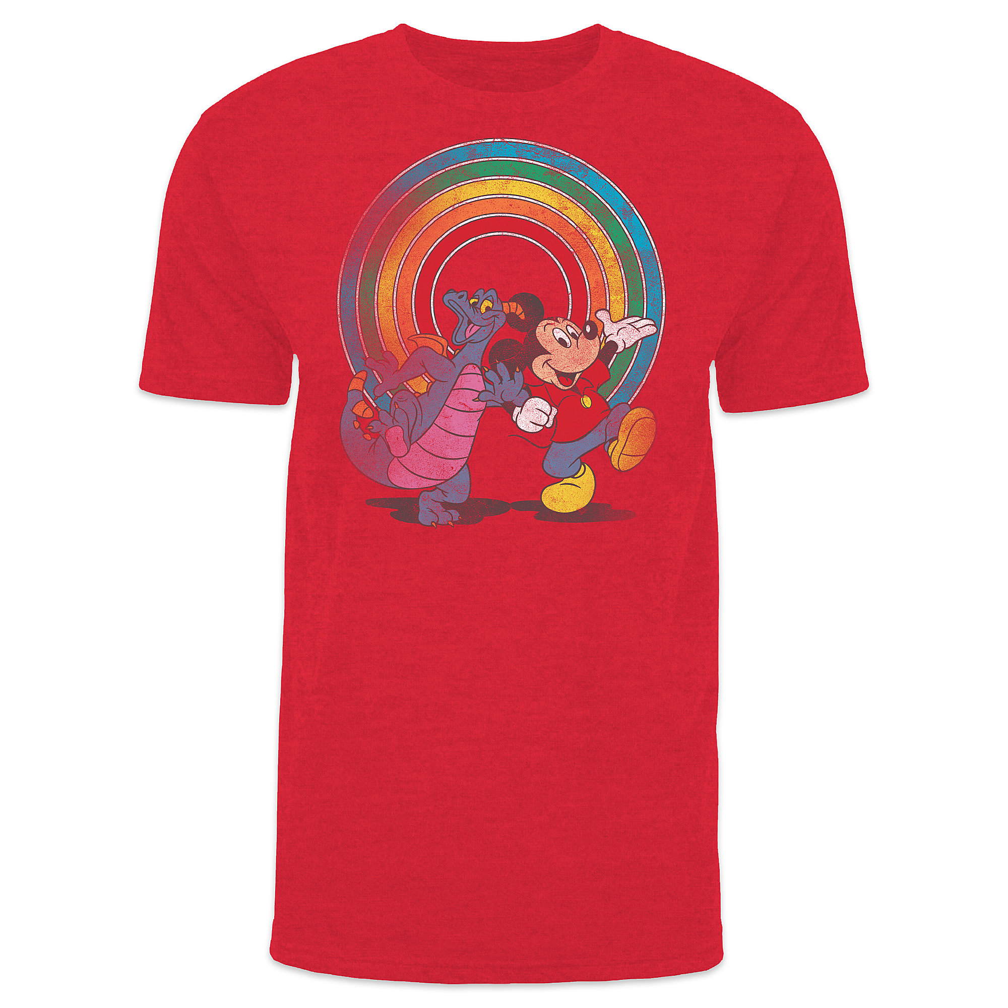 Mickey Mouse and Figment YesterEars T-Shirt for Adults - Epcot - Limited Release