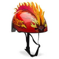 Image of Lightning McQueen Bike Helmet # 2