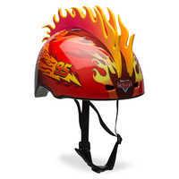 Image of Lightning McQueen Bike Helmet # 2