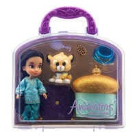 Image of Disney Animators' Collection Jasmine Mini Doll Play Set # 2