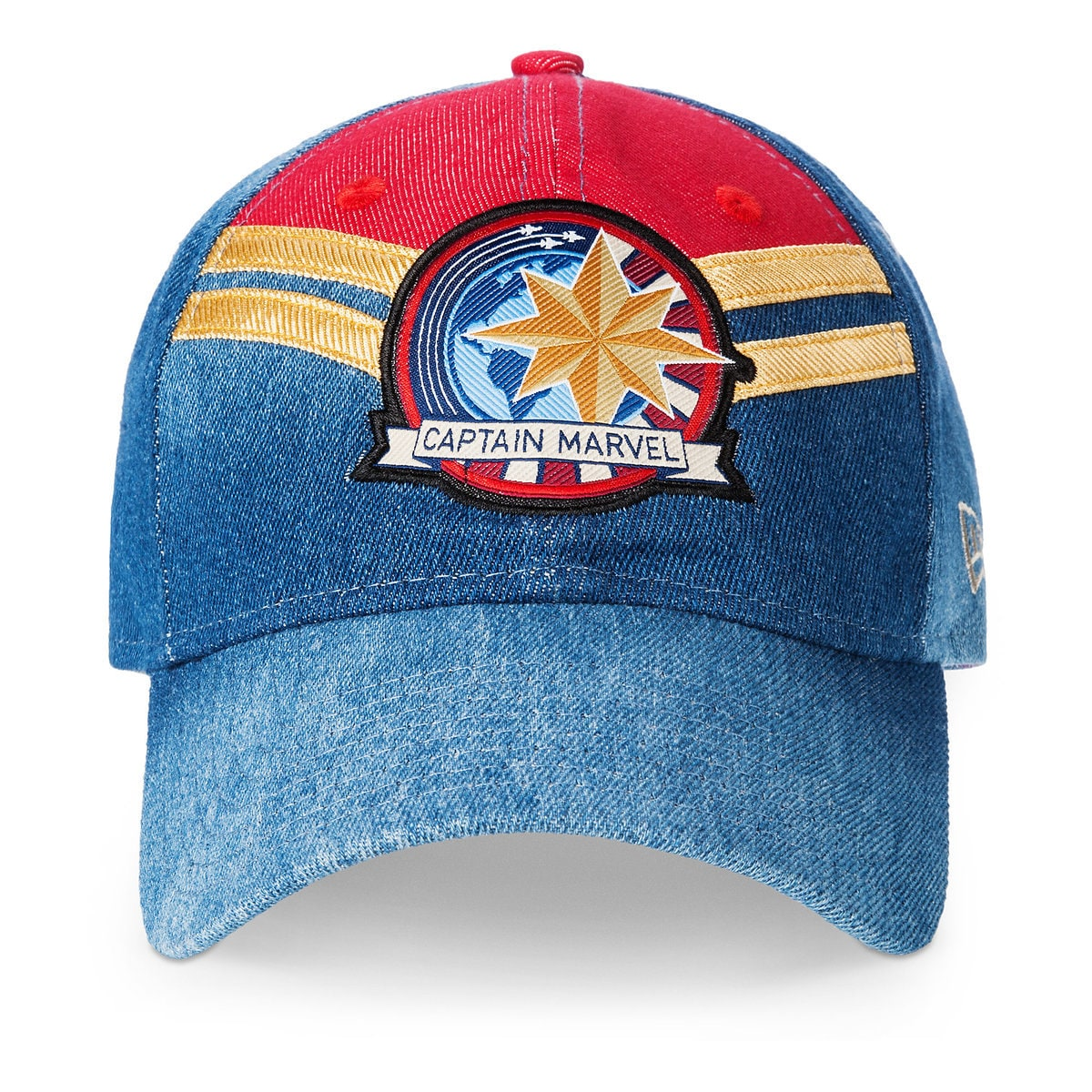 8b679e36 Product Image of Marvel's Captain Marvel Baseball Cap for Adults by New Era  # 1