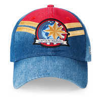 Image of Marvel's Captain Marvel Baseball Cap for Adults by New Era # 1