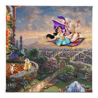Image of ''Aladdin'' Gallery Wrapped Canvas by Thomas Kinkade Studios # 1