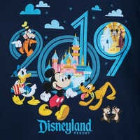Image of Mickey Mouse and Friends Hoodie for Adults - Disneyland 2019 # 3