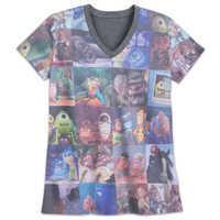 Image of Pixar V-Neck T-Shirt for Women # 1