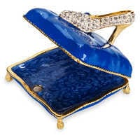 Image of Cinderella Slipper Trinket Box by Arribas Brothers # 2