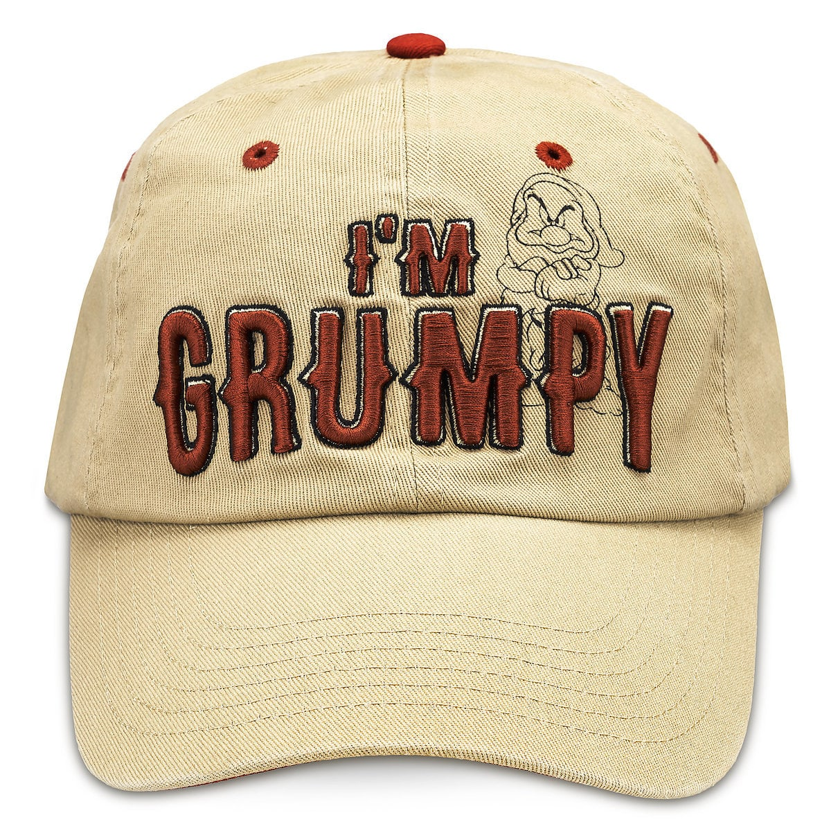 4ce642d5d87 Product Image of Grumpy Baseball Cap for Adults   1