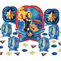 Image of Marvel's Captain Marvel Party Table Decorating Kit # 1