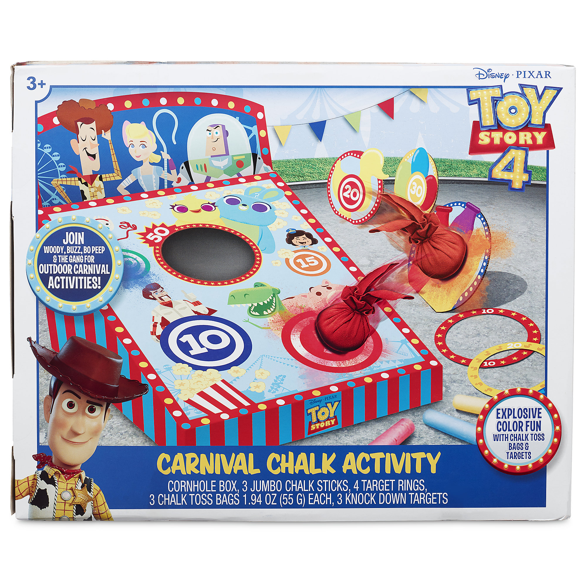 Toy Story 4 Carnival Chalk Activity is now available online