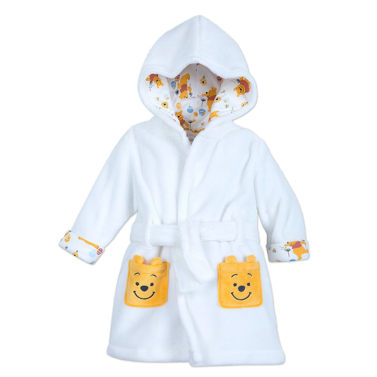 3e7b663926 Product Image of Winnie the Pooh Hooded Robe for Baby   1