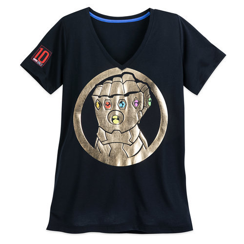 Thanos Infinity Gauntlet T-Shirt for Women - Marvel's Avengers: Infinity War