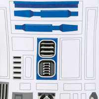 Image of R2-D2 Costume Bodysuit for Baby - Star Wars # 5