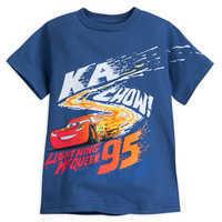 Image of Lightning McQueen T-Shirt for Boys - Cars # 1