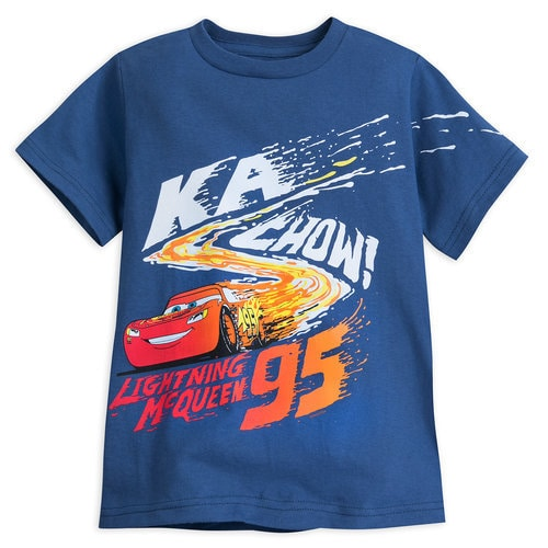 Lightning McQueen T-Shirt for Boys - Cars