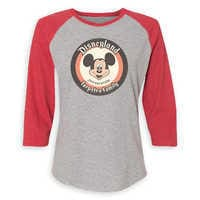 Image of Mickey Mouse Family Vacation Raglan Shirt for Women - Disneyland 2019 - Customized # 2