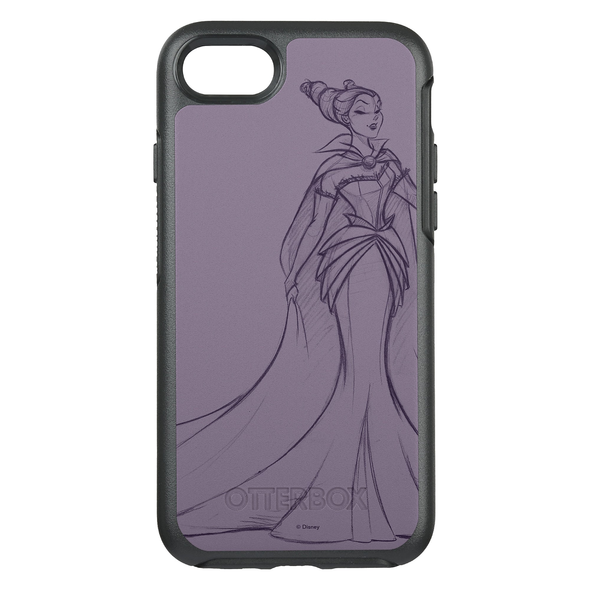 Maleficent OtterBox Symmetry iPhone 8/7 Case - Art of Disney Villains Designer Collection