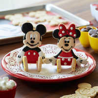 Image of Mickey and Minnie Mouse 3D Cookie Cutter Set - Disney Eats # 2