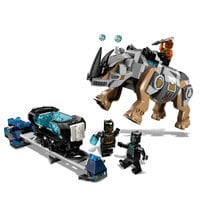 Image of Rhino Face-Off by the Mine Playset by LEGO - Black Panther # 1