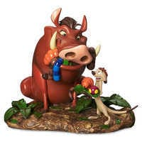 Image of Timon and Pumbaa Figure - The Lion King # 1
