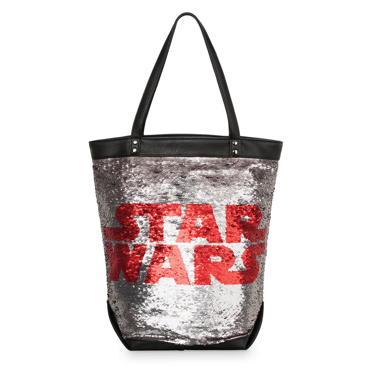 Product Image Of Star Wars Logo Sequin Tote Bag 1