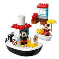 Image of Mickey Mouse Boat Duplo Playset by LEGO - Mickey and the Roadster Racers # 1