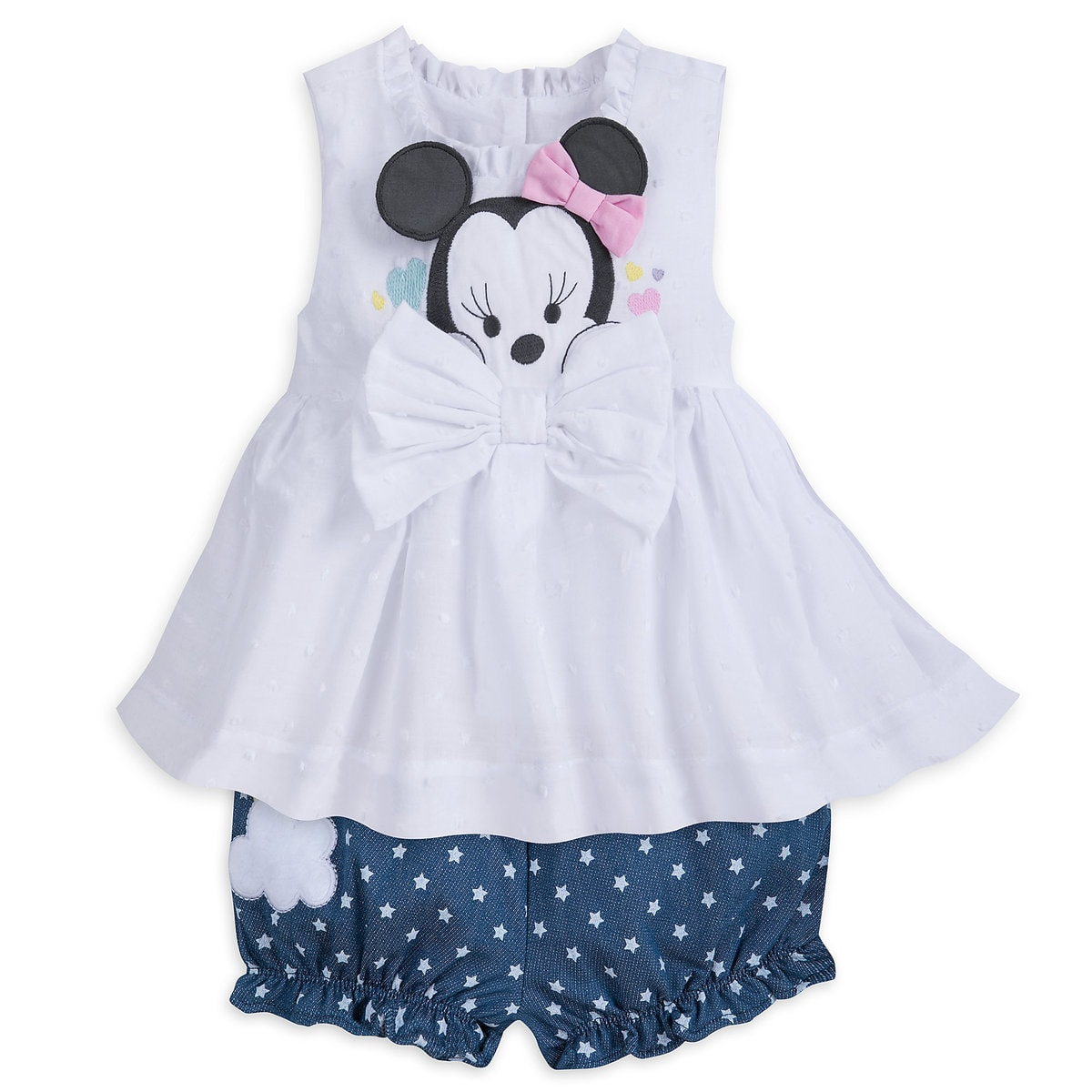 ac1ab8ab7 Product Image of Minnie Mouse Layette Bloomer Set for Baby # 1