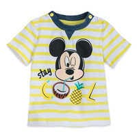 Image of Mickey Mouse ''Stay Cool'' Shirt and Shorts Set for Baby # 2