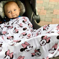 Image of Minnie Mouse Baby Blanket by Milk Snob # 2