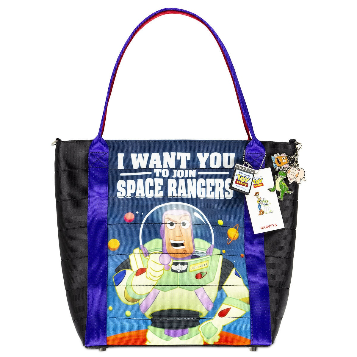 96a2c807127c7 Product Image of Toy Story Posters Tote by Harveys # 1