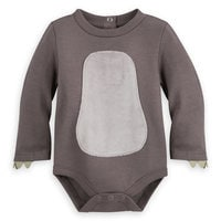 Image of Baloo Costume Bodysuit for Baby - The Jungle Book # 3
