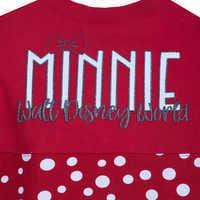 Image of Minnie Mouse Polka Dot Spirit Jersey for Kids - Walt Disney World # 3