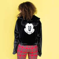 Image of Mickey Mouse Faux Fur Jacket for Women by Cakeworthy # 3