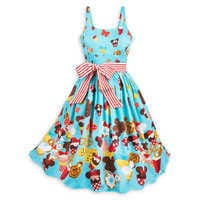 Image of Disney Parks Food Icons Dress for Women # 1