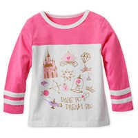 Image of Disney Princess Icons Long Sleeve T-Shirt for Girls # 1